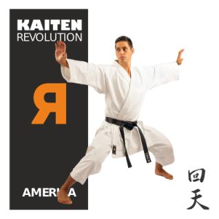 KAITEN Karateanzug REVOLUTION AMERICA Regular 14oz. 155