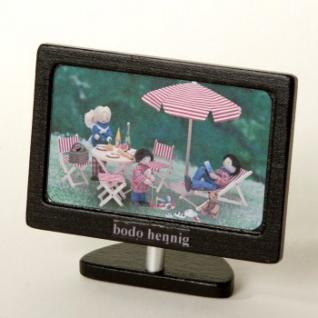 Bodo Hennig 27084 - Fernseher-Flachbild für Puppenstube