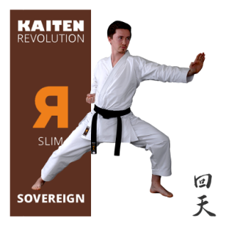 KAITEN Karateanzug REVOLUTION SOVEREIGN Slim 10oz. 160