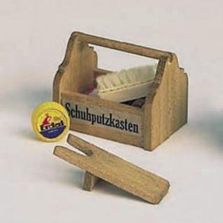 Bodo Hennig 27547 - Schuhputzzeug, Stiefelknecht für Puppenstube
