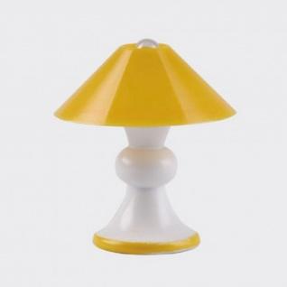 Bodo Hennig 26356 - Tischlampe gelb für Puppenhaus
