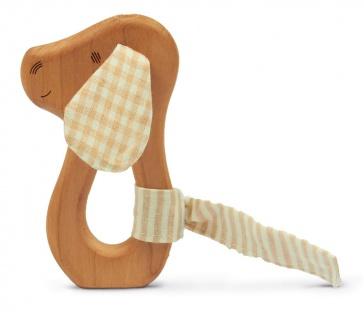 SENGER Y21302 - Natur Pur Holz-Greifling Hund (vegan)