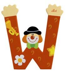 Sevi 81759 - Buchstabe Clown W