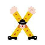 Sevi 81080 - Buchstabe Clown X 2006 - Vorschau
