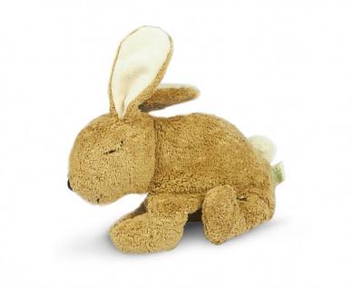SENGER Y21014 - Kuscheltier Hase groß beige, Wärmekissen