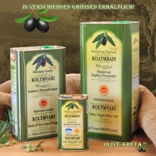 6x KOLYMPARI PDO 04024 Natives Olivenöl Extra 4, 5 Liter (AKTION ! 6 Flaschen a 750 ml Kolymvari) - Vorschau 3