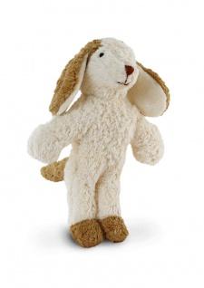 SENGER Y21911 - Tierpuppen-Baby Hund 20cm, 100% Natur