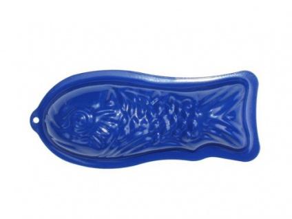 GLÜCKSKÄFER 535031 - Relief-Sandform Fisch, blau
