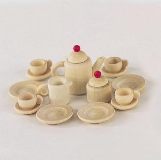Bodo Hennig 27040 - Kaffeeservice Ahorn für Puppenstube