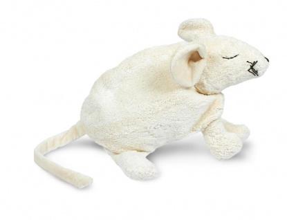 SENGER Y21001 - Kuscheltier Maus groß, Wärmekissen