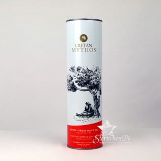 CRETAN MYTHOS 03025 - Extra Natives Olivenöl 1Liter Dose von Chania Kreta