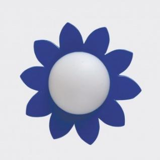 Bodo Hennig 26376 - Wandlampe Blume blau für Puppenhaus