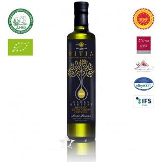 SI-MEL 12514 Organic Natives Olivenöl Extra 750ml - Frühe Ernte PDO SITIA Lassithi KRETA
