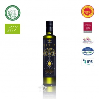 SI-MEL 12512 Organic Natives Olivenöl Extra 250ml - Frühe Ernte PDO SITIA Lassithi KRETA