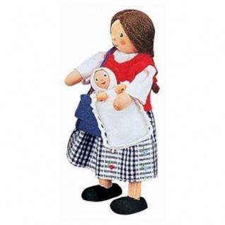 Käthe Kruse 66201 - Biegepuppe Baby klein 4cm - Vorschau