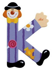 Sevi 81747 - Buchstabe Clown K