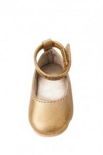 Käthe Kruse 33416 - Puppenschuhe Ballerinas Gold für Stehpuppen Gr. 41