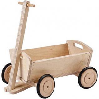 Käthe Kruse 65102 - Puppenzubehör - Holz Leiterwagen