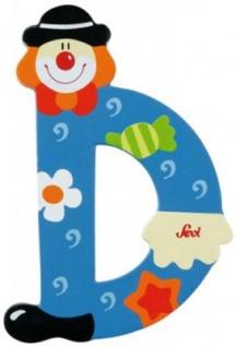 Sevi 81740 - Buchstabe Clown D - Vorschau 2