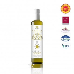 SI-MEL 12013 Natives Olivenöl Extra 500ml - Frühe Ernte PDO SITIA Lassithi KRETA
