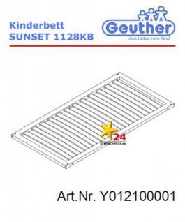 GEUTHER Y012100001 Ersatzteil Lattenrost für KB SUNSET