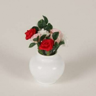 Bodo Hennig 27590 - Rosenvase für Puppenstube