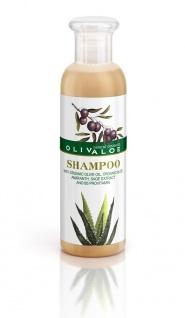 OLIVALOE 00267 - SHAMPOO - Haarshampoo für alle Haartypen - Reisegröße 90ml, Naturkosmetik
