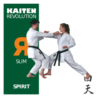 KAITEN Karateanzug REVOLUTION SPIRIT Slim 12oz. 130