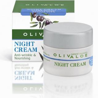 OLIVALOE 00170 - NIGHT CREAM Anti-wrinkle & Nourishing Nachtcreme 40ml