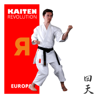 KAITEN Karateanzug REVOLUTION EUROPA Regular 11oz. 185