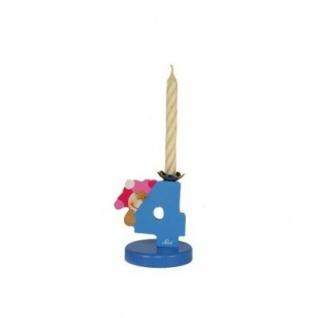 Sevi 81904 - Kerzenhalter Zahl 4