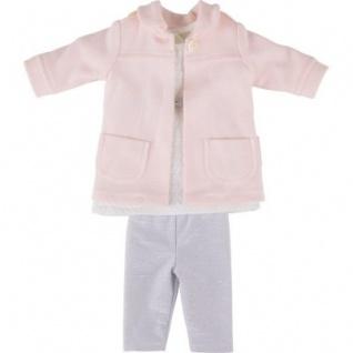 Käthe Kruse 41612 - Puppen Bekleidung - Isabel Outfit Bekleidung, 3-teilig