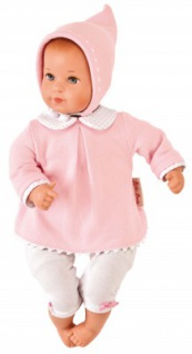 Käthe Kruse 36555 - Puppe Mini Bambina Anna mit Tasche