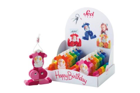 Sevi 81721 - Geburtstags-Platzkartenhalter (12er Set)