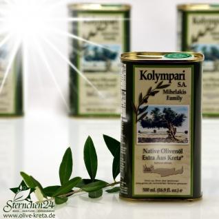 KOLYMPARI SA 04053 Natives Olivenoel Extra Kolympari Mihelakis 500ml Dose