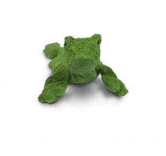 SENGER Y21029 - Kuscheltier Frosch klein, Wärme-/Kühlkissen