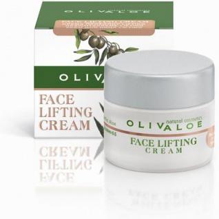 OLIVALOE 00138 - FACE LIFTING CREAM - straffende Gesichtscreme 40ml, Naturkosmetik