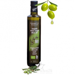Ausgezeichnetes KOLYMPARI S.A. 04503 - Organic Extra Virgin Olivenöl 500ml MHD11/22