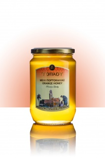 "SI-MEL SAVIDAKIS 12400 - "" Toplou"" Orangen Honig 950g von Kreta"