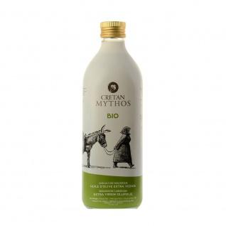 CRETAN MYTHOS 03515 - 1L Organic Natives Olivenöl Extra 1000ml von Chania Kreta