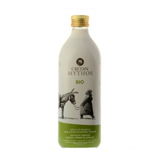 CRETAN MYTHOS 03515 - Organic Natives Olivenöl Extra 1000ml von Chania Kreta