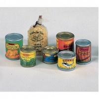 Bodo Hennig 27024 - Konserven und Nudeln für Puppenstube
