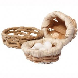 Bodo Hennig 27019 - Körbe und Eier für Puppenstube