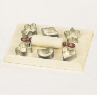 Bodo Hennig 27122 - Weihnachtsbäckerei-Set für Puppenstube