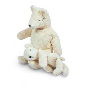 SENGER Y21008 - Kuscheltier Eisbär groß, Wärmekissen