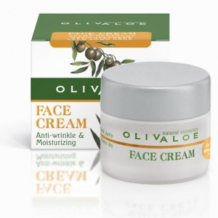 OLIVALOE 00161 - FACE CREAM (Dry to dehydrated skin) Feuchtigkeitscreme 40ml