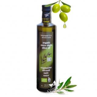 Ausgezeichnetes KOLYMPARI S.A. 04504 - Organic Extra Virgin Olivenöl 750ml von Kreta MHD11/22
