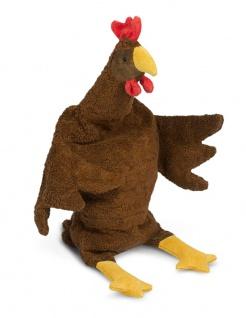 SENGER Y21022 - Kuscheltier Huhn groß braun