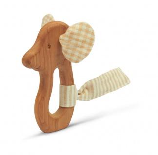 SENGER Y21303 - Natur Pur Holz-Greifling Maus (vegan)