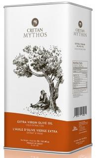 CRETAN MYTHOS 03037 - Extra Natives Olivenöl 3 Liter Dose von Chania Kreta